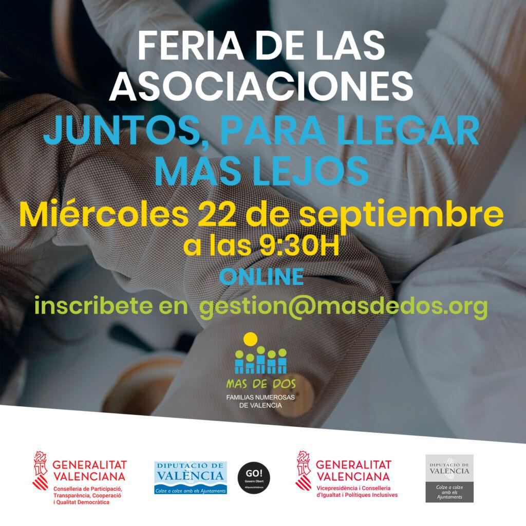Feria de las asociaciones 22 de septiembre